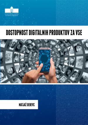 Naslovnica za Dostopnost digitalnih produktov za vse