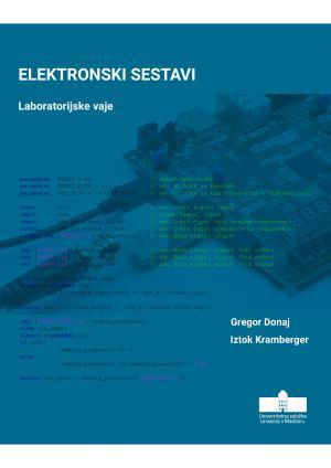 Naslovnica za Elektronski sestavi: Laboratorijske vaje