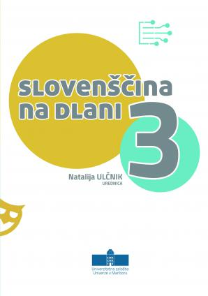 Naslovnica za Slovenščina na dlani 3