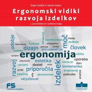 Naslovnica za Ergonomski vidiki razvoja izdelkov: 2. posodobljena in razširjena izdaja