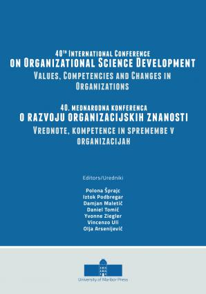 Naslovnica za 40th International Conference on Organizational Science Development: Values, Competencies and Changes in Organizations: Conference Proceedings