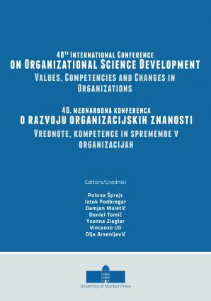 Naslovnica za 40th International Conference on Organizational Science Development: Values, Competencies and Changes in Organizations: Conference Proceedings