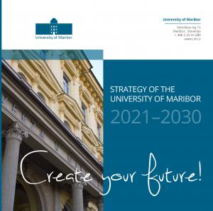 Naslovnica za Strategy of the University of Maribor 2021–2030
