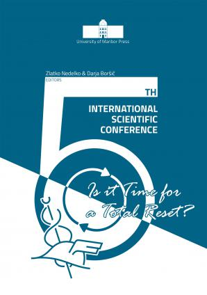 Naslovnica za 5th International Scientific Conference: Is it Time for a Total Reset?