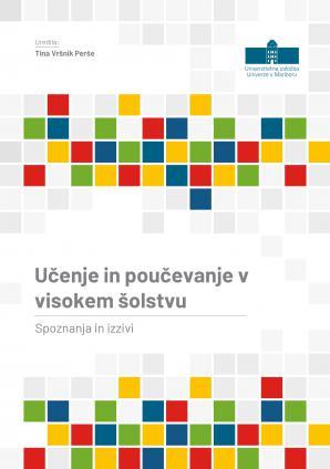 Naslovnica za Učenje in poučevanje v visokem šolstvu: Spoznanja in izzivi