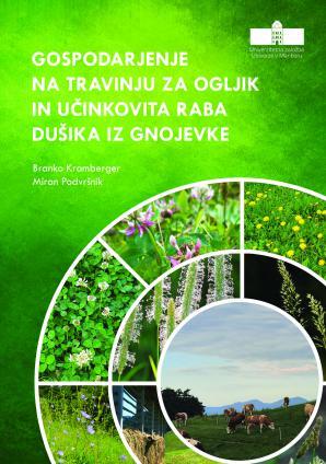 Naslovnica za Gospodarjenje na travinju za ogljik in učinkovita raba dušika iz gnojevke