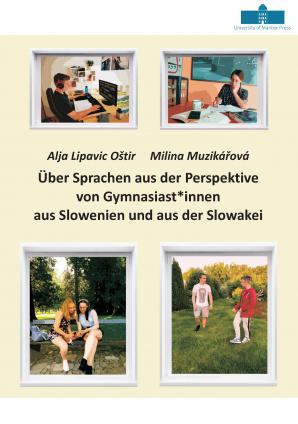 Naslovnica za Über Sprachen aus der Perspektive von Gymnasiast*innen aus Slowenien und aus der Slowakei
