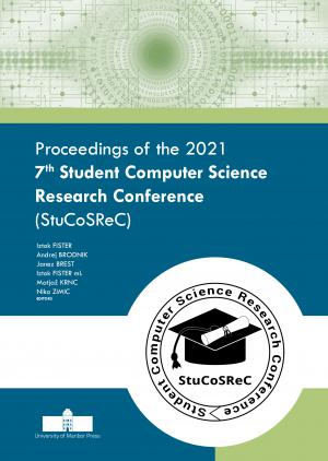 Naslovnica za Proceedings of the 2021 7th Student Computer Science Research Conference (StuCoSReC)