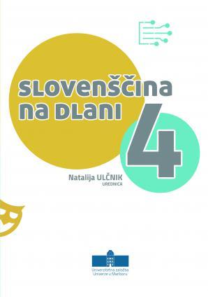 Naslovnica za Slovenščina na dlani 4