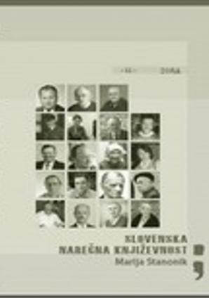 Naslovnica za Slovenska narečna književnost