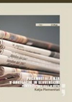 Naslovnica za Posamostaljenja v angleščini in slovenščini: primer časopisnih vesti in kritik