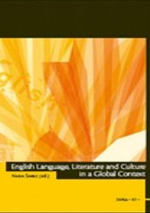 Naslovnica za English Language, Literature and Culture in a Global Context